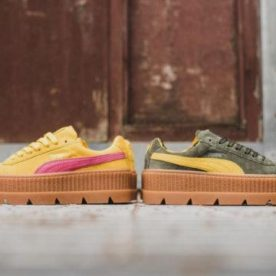 Puma x Rihanna Cleated Creeper Suede: замшевое копытце