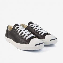 Converse Jack Purcell Lea OX Black / White (1S962 Black / White)