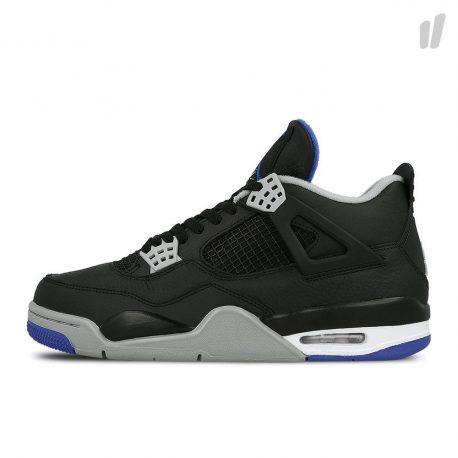 Air Jordan Nike AJ 4 IV Retro Motorsports Alternate Black (2017) (308497-006)