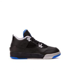 "Nike Air Jordan IV ""Game Royal"" PS (Schwarz / Royal Blau) (308499-006)"