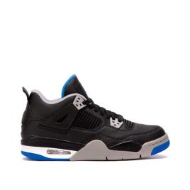 "Nike Air Jordan IV ""Game Royal"" GS (Schwarz / Royal Blau) (408452-006)"
