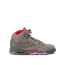 Air Jordan 5 Retro BG (Dark Stucco / University Red / River Rock) (440888-051)