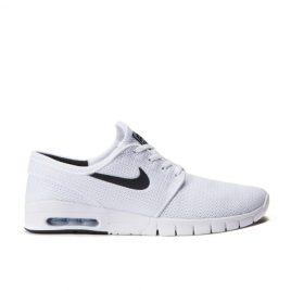 Nike SB Stefan Janoski Max (Weiß / Schwarz) (631303-100)