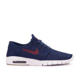 Nike SB Stefan Janoski Max (Blau / Rot / Gum) (631303-469)