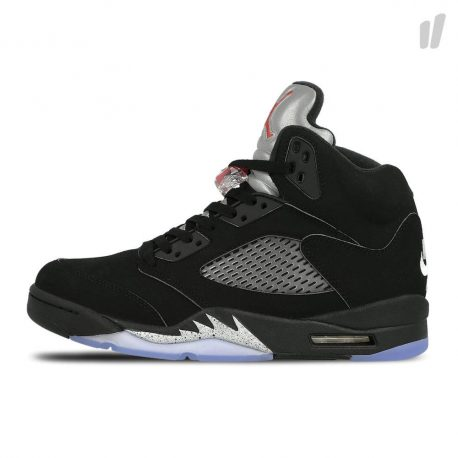 Air Jordan Nike AJ 5 V Retro Black Metallic (2016) (845035-003)