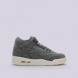 Nike Kids  Air Jordan 3 Retro Wool BG (861427-004)