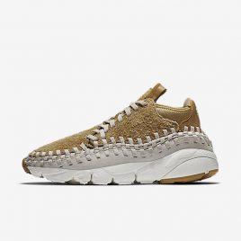 Nike Air Footscape Woven Chukka Flat Gold Light Orewood Brown (913929-700)