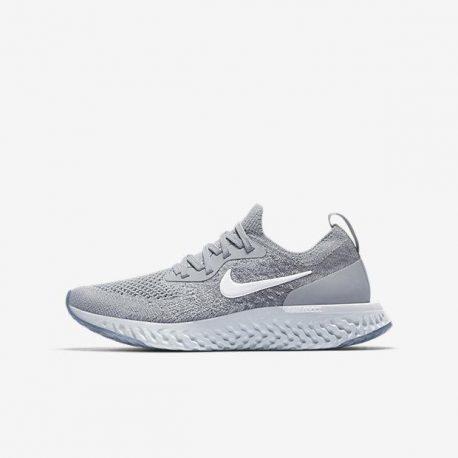 Беговые кроссовки для школьников Nike Epic React Flyknit 1 (943311-002)