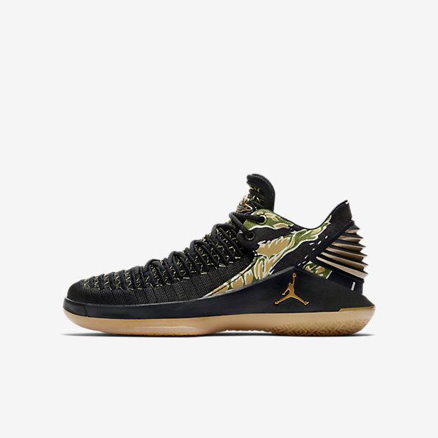 648bc965 Баскетбольные кроссовки для школьников Air Jordan XXXII Low (AA1257-021)