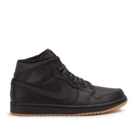 Nike Air Jordan 1 MID Winterized (Schwarz) (AA3992-002)
