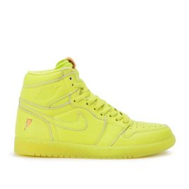 Air Jordan Nike AJ I 1 Retro High Gatorade Cyber Yellow (AJ5997-345)