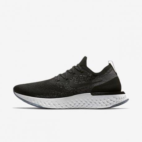 Nike Epic React Flyknit Black/Dark Grey (AQ0067-001)