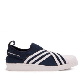 adidas White Mountaineering Superstar Slip On (Navy / Weiß) (BY2879)