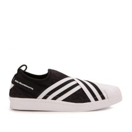 adidas White Mountaineering Superstar Slip On (Schwarz / Weiß) (BY2880)