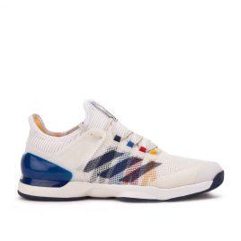 adidas x Pharrell Williams Adizero Ubersonic 2.0 PW (Weiß / Dunkelblau) (CG3086)