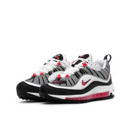 Nike WMNS Air Max 98 (Weiß / Rot / Silber) (AH6799-104)