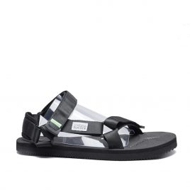 Suicoke Satin Sandals DEPA Cap (Schwarz) (OG-022-DEPA-CAB-003)