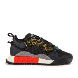adidas by Alexander Wang AW Reissue Run (schwarz / grau / rot) (B43597)