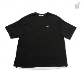 Heta Back Flare T-Shirt ( HT8STS0055 / Black )