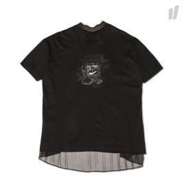 Heta Lace Back T-Shirt ( HT8STS20045 / Black )