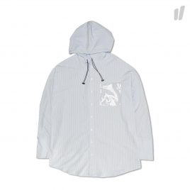Heta Hooded Shirt ( HTSSH0021 / Blue/White )