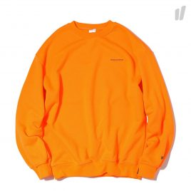 thisisneverthat DSN Logo Crewneck (Neon-Orange)