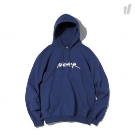 thisisneverthat NEVER Sweatshirt Hooded ( TN18SHS009NAL / Navy )