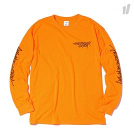 thisisneverthat CA-Logo Longsleeve Top ( TN18STS002EAL / Neon Orange )