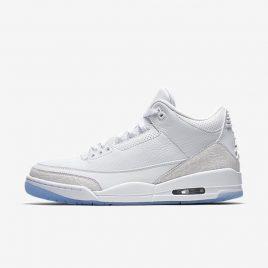 Jordan Air Jordan 3 Retro «Pure White» Sneakers (136064 111)