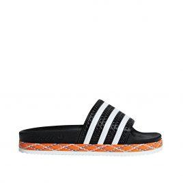 adidas Adilette New Bold W (Schwarz) (AQ1124)