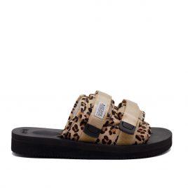 Suicoke Sandals Moto-VHL (Leopard) (OG-056VHL-MOTO-VHL-007)