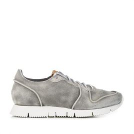 Buttero B5910 Carrera Sneakers Crack Grey (B5910BIAN-UG-matera)