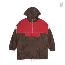 Heta Back Printing Anorak ( HT8SP001C / Red/Brown )