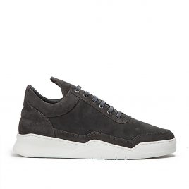 Filling Pieces Low Top Ghost Waxed Suede (Dunkelgrau) (2522259-ANTRACITE)