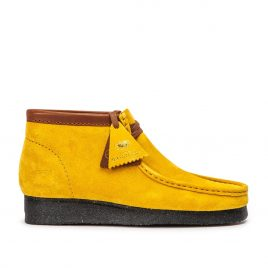 Clarks Originals x Wu Wear Wallabee WW (Gelb Wildleder) (26142-3857)