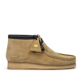 Clarks Originals x Wu Wear Wallabee WW (Beige Wildleder) (26142-7237)