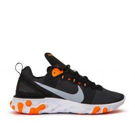 Nike React Element 55 (Schwarz / Orange) (BQ6166-006)