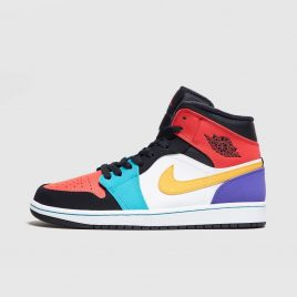 Air Jordan Nike AJ I 1 Mid Bred Multi-Color (554724-125)