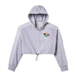 Fiorucci x adidas Wmns Cropped Hoodie (EC5758)