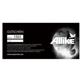 Allike Gutschein 150€ (allike150)