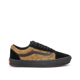 Vans UA Comfycush Old Skool «Tiny Cheetah» (Schwarz / Braun) (VN0A3WMAVWS1)