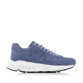 Viberg Sneaker Color 387 Suede Blue (sneaker-zabri-suede)