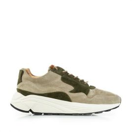 Buttero B7350 Vinci Running Snuff Suede Nude Spring/Militare (B7350VARP-UG-nude-spring-militare)