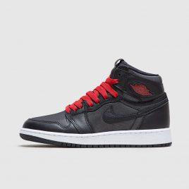 Air Jordan Nike AJ I 1 Retro High OG Black Red (2020) (555088-060)