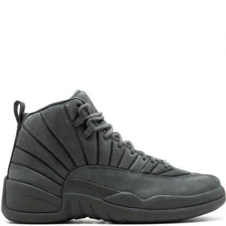 Air Jordan Nike AJ XII 12 Retro PSNY All Grey (130690-003)