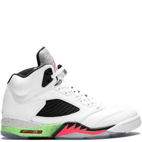 Air Jordan Nike AJ 5 V Retro Poison Green (Pro Stars) (136027-115)