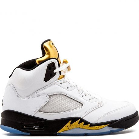 Air Jordan Nike AJ V 5 Olympic Gold (136027-133)