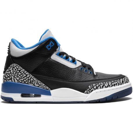 Air Jordan Nike AJ III 3 Retro Sports Blue (2014) (136064-007)