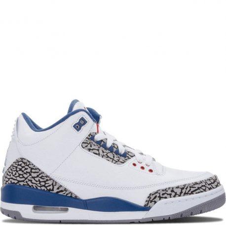 Air Jordan Nike AJ 3 III Retro True Blue (2011) (136064-104)