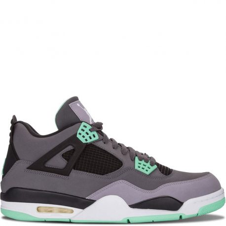 Air Jordan Nike AJ 4 IV Retro Green Glow (308497-033)